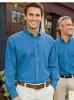 Men's Solid Color LONG SLEEVE Industrial Casual Denim Shirt DJ020