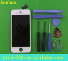 For Iphone 5 LCD With Touch Digitizer Full Assembly,Paypal Accepted