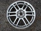"WHEEL RIM OEM FACTORY 17"" 6 DOUBLE SPOKE HYPER SILVER"