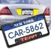 led car license plate flash frame(US size,chrome frame)