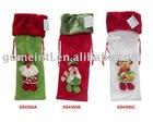 2010 Velboa Christmas bag,Gift bag,Christmas sock