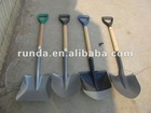 Hot sale different types of shovels