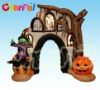 Inflatable Halloween light arch