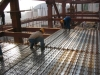 Headerboard steel bar truss girder deck steel structure