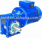 Worm gear speed reducer motor