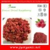 Dehydrated raspberry with Haccp