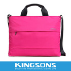 High Quality Twill Nylon Fashion Lady Handbag, Laptop Bag Industry Standard Lead Promoter,Variety Of Colors Available