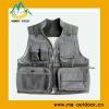 100% Cotton Photography Vests Multi Pocket Vest