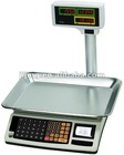 electronic weighing and counting scale