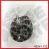 2012 latest Leopard shell earrings