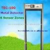 High Performance Walk Through Metal Detector&Security Door TEC-100