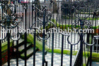 Wrought iron guard stairs fence
