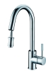 single lever sink mixer with pull out system