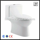 Siphon Jet flushing cheap ceramic toilet