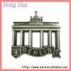 souvenir metal BERLIN fridge magnet (A-605)