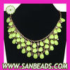 New Design Briolette Bib Statement Necklace Wholesale
