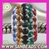 2012 latest Austrian crystal European charms fit European Bracelet