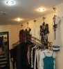 Wrought Iron Clothes Racks