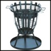 Charcoal BBQ Grill Fire Basket