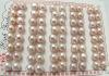 wholesale 7.5mm purple freshwater pearl earring beads