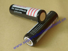 Flat head 18650 3.7V 4200mAH rechargeable battery without PCB protection