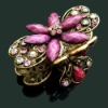 Fashion flower shaped hair claw