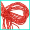 Wholesale 2mm red colar beads CLA-4289