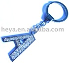 fashion letter keychain