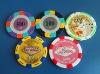 Laser Poker Casino Chip