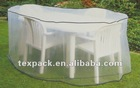 Outdoor clear PE/PVC film round table cover
