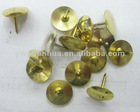 gold colour metal thumb tack