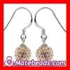 Top Selling Crystal Ball Earrings