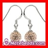 Top Selling Crystal Ball Earrings