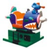 Kiddie Ride Shark Plane