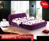 Fabric soft bed F015
