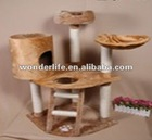 three layers MDF cat scratcher