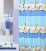 100%polyester bathroom curtain