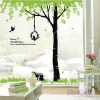 PVC Or Paper Wall sticker whosale,tree design