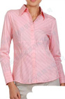 female's smart pink blouse