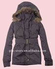 cotton trendy padded coat with hood