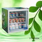 55L ice cream display freezer, bar freezer YT-SD55A