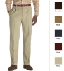 Elliot Relaxed Fit Pleat-Front Brushed Cotton Twill Trouser