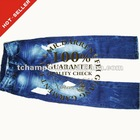 (#TG174M) 2012 EUR straight leg tie dye & whiskers fashion men fade to blue pants