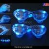 plastic led blue sunglasses