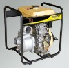 manual electric start diesel engine self-priming centrifugal water pump
