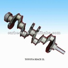 AUTO ENGINE PARTS(CRANKSHAFT) FOR TOYOTA HIACE 2L