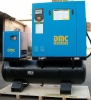 15hp, rotary screw compressor with dryer ,320L tank