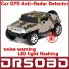 A6 Auto Radar Laser detector Russinan Speaking vehicle speed control detector car anti-radar detector