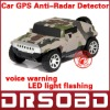 A6 Auto Radar Laser detector Russinan Speaking vehicle speed control detector car anti-radar detector