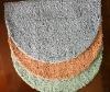 Microfiber bathmat design